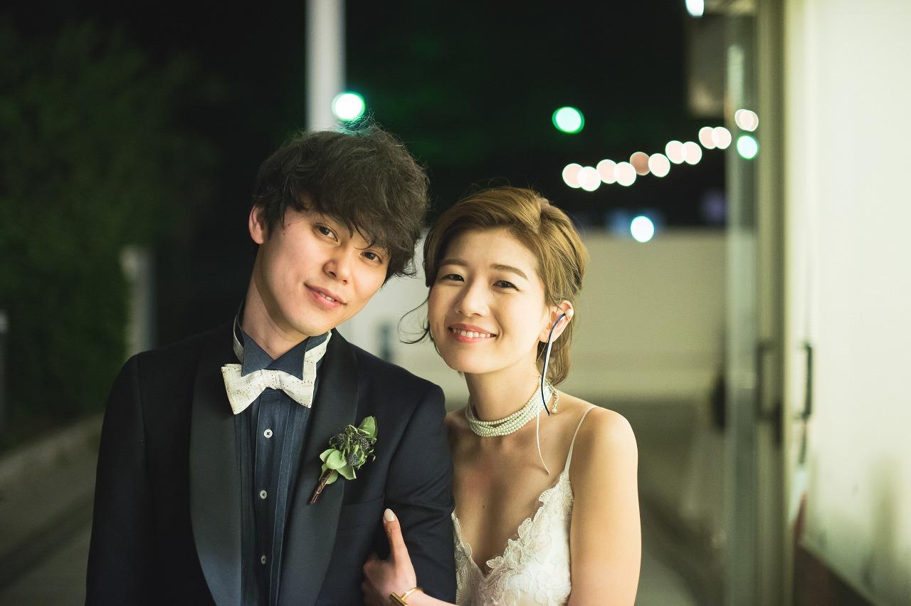 結婚式_ガーデン_夜