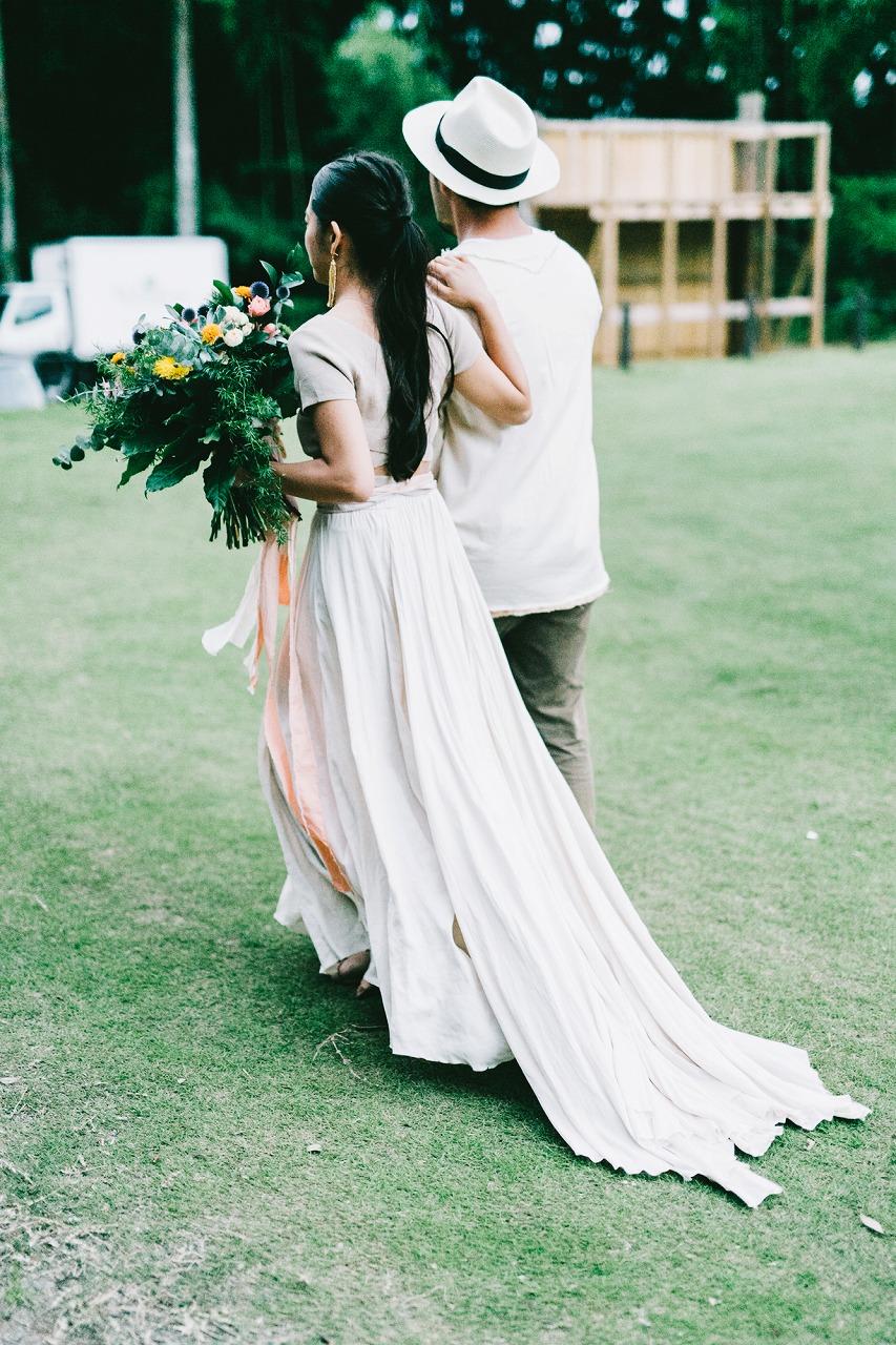 結婚式_アウトドア_ドレス