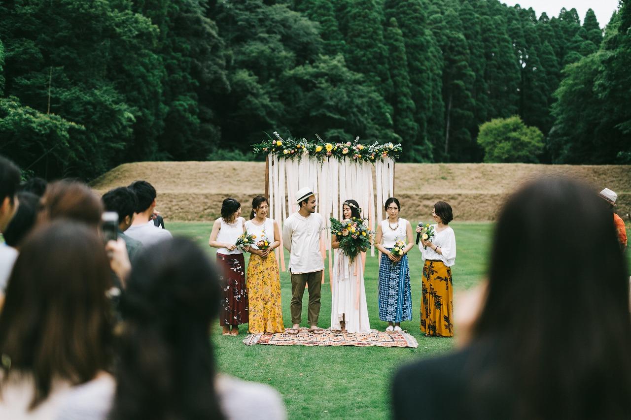 結婚式_アウトドア_ブライズメイド