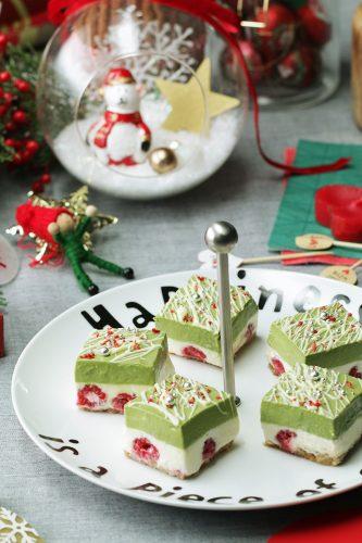クリスマス_チーズケーキ