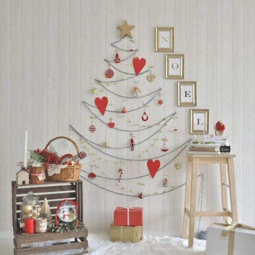 クリスマスツリー_ウォール