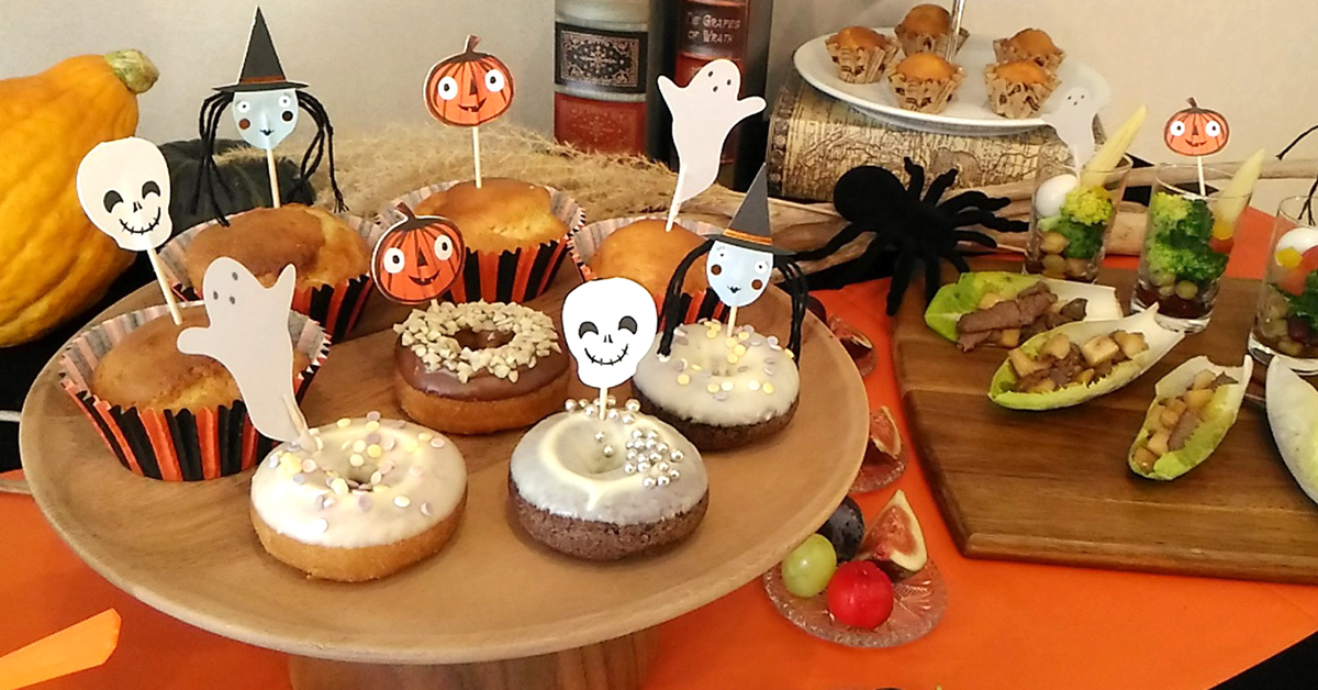 HALLOWEEN DONUT PARTY