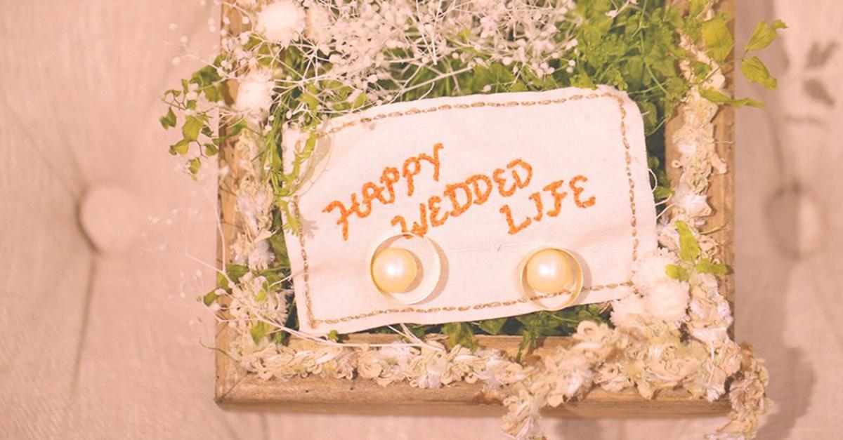 手作りや人気のおしゃれなものだけ。結婚式で欠かせないリングピローまとめ