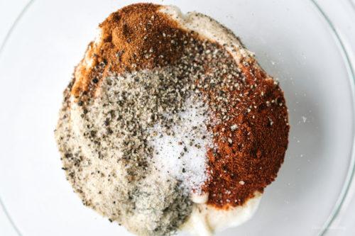 ターキー丸焼きのスパイス