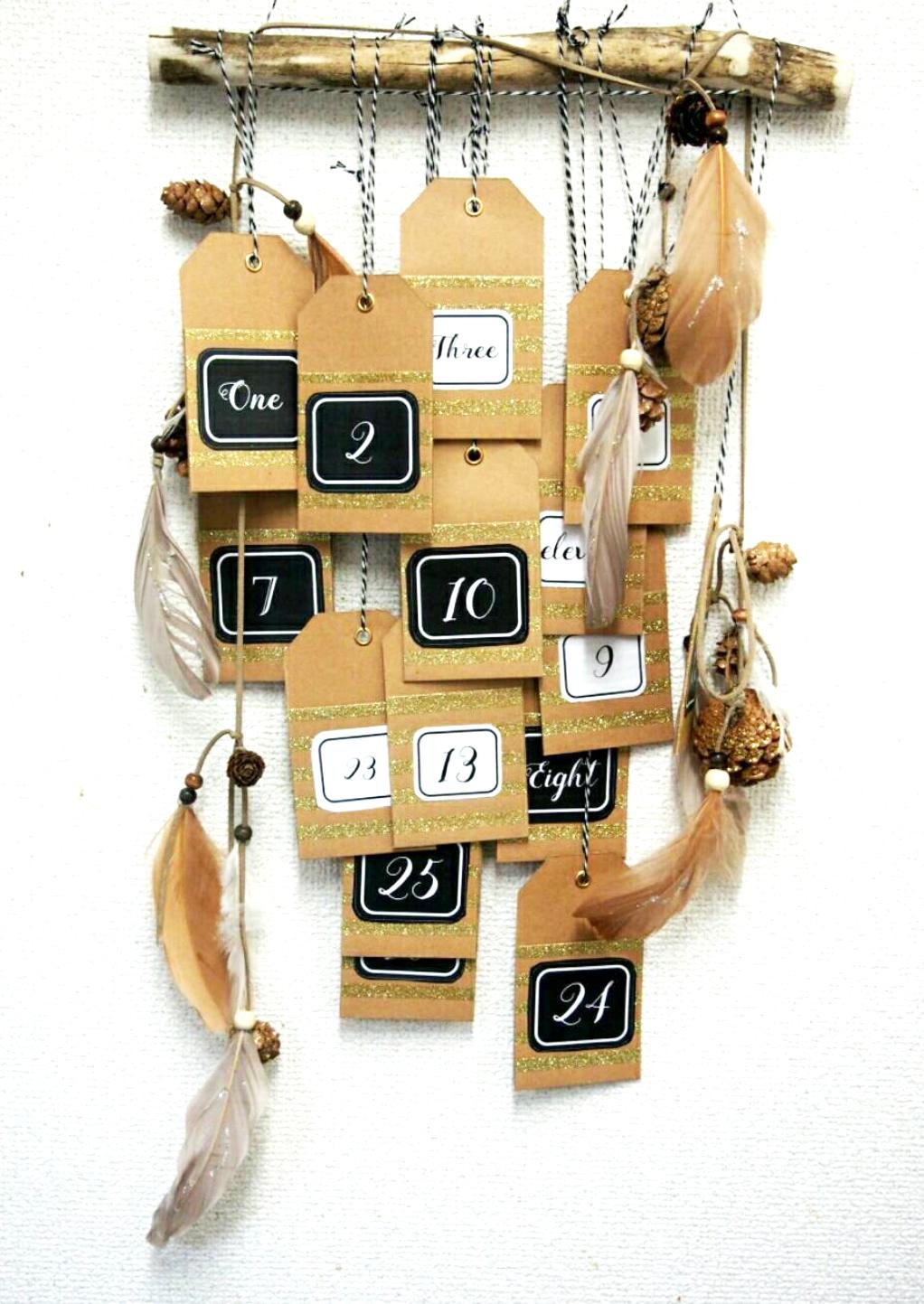 手作りのアドベントカレンダー