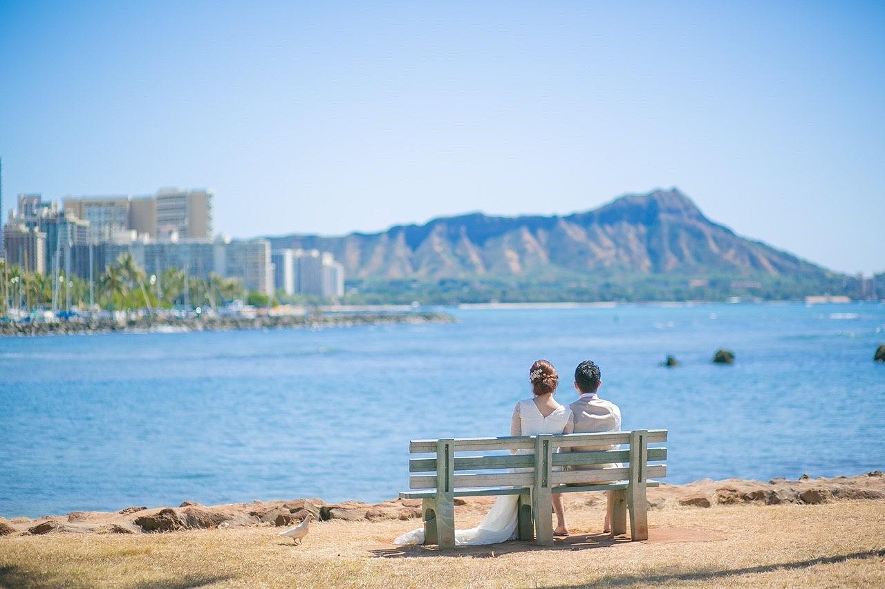 ハワイウェディング_ロケーションフォト