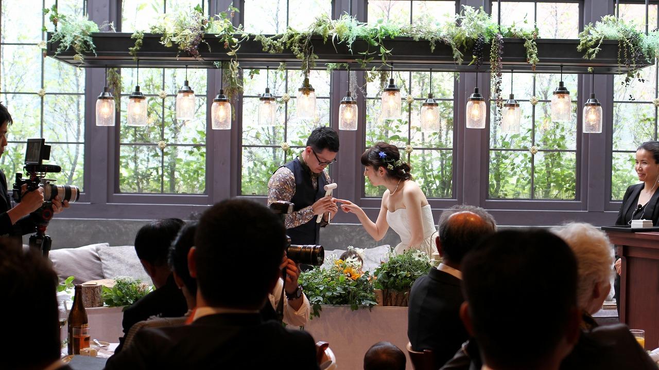 結婚式_演出
