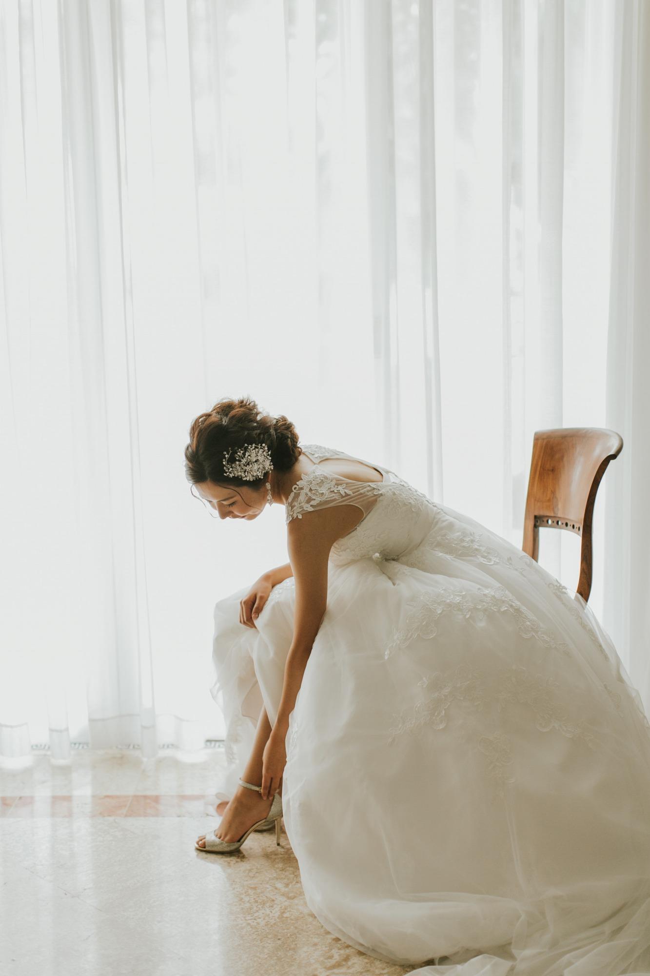結婚式 ヘアセット ボブ セルフ
