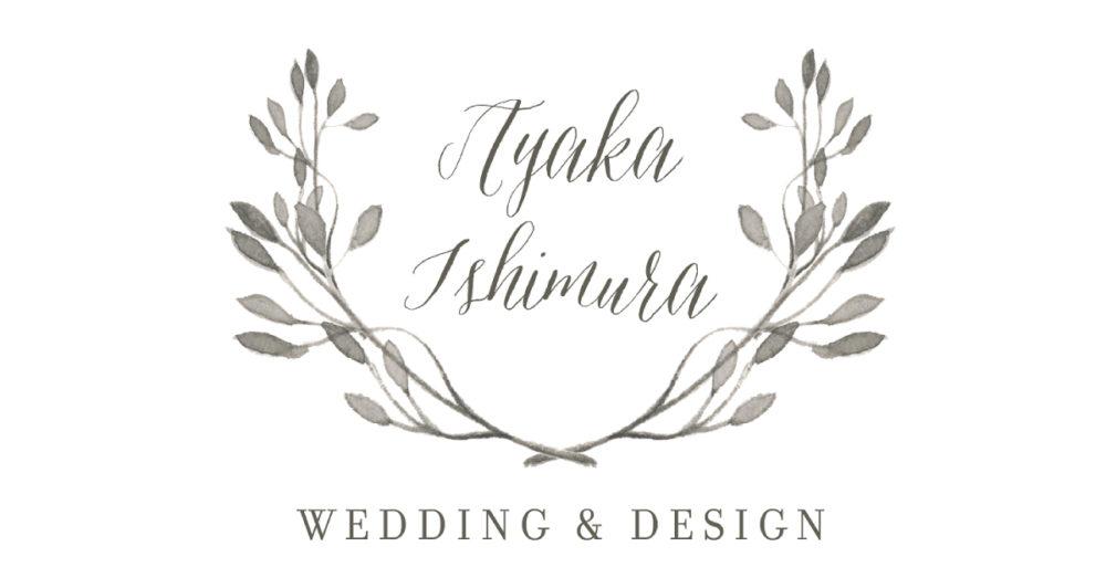 AYAKA ISHIMURA Wedding & Design