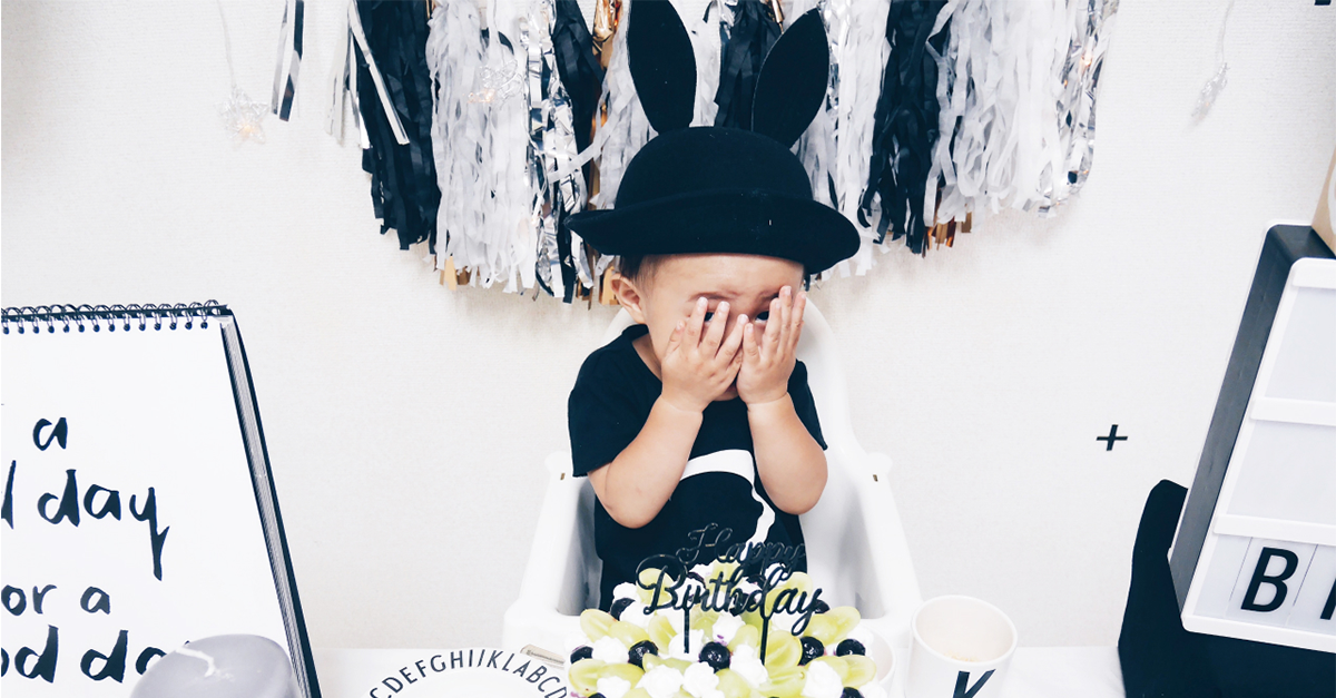 男の子の誕生日の可愛い飾り付けアイディアまとめ