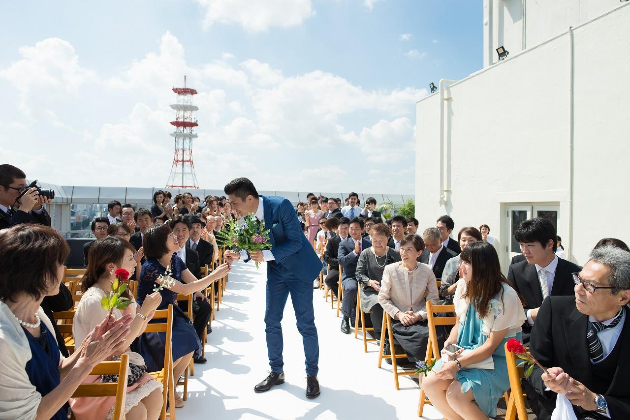 結婚式 ブーケセレモニー