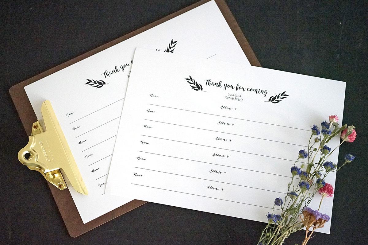 結婚式芳名帳に。ゲストブックを手作りしよう|おしゃれな無料