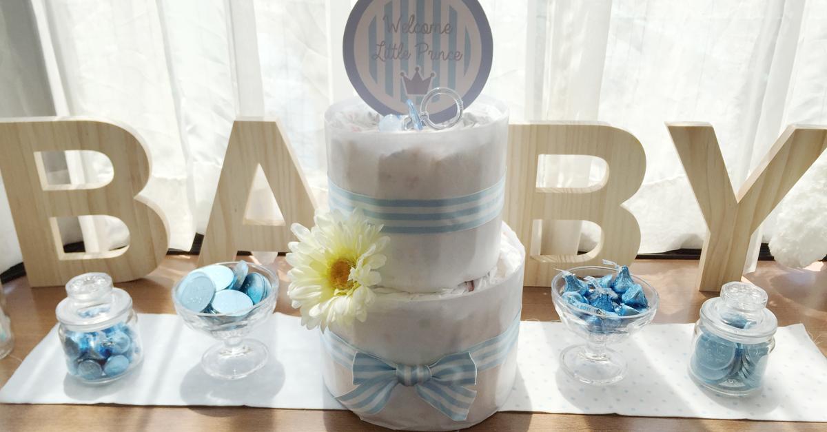 ベビーシャワーの定番おむつケーキ!可愛いデザインイメージ6選