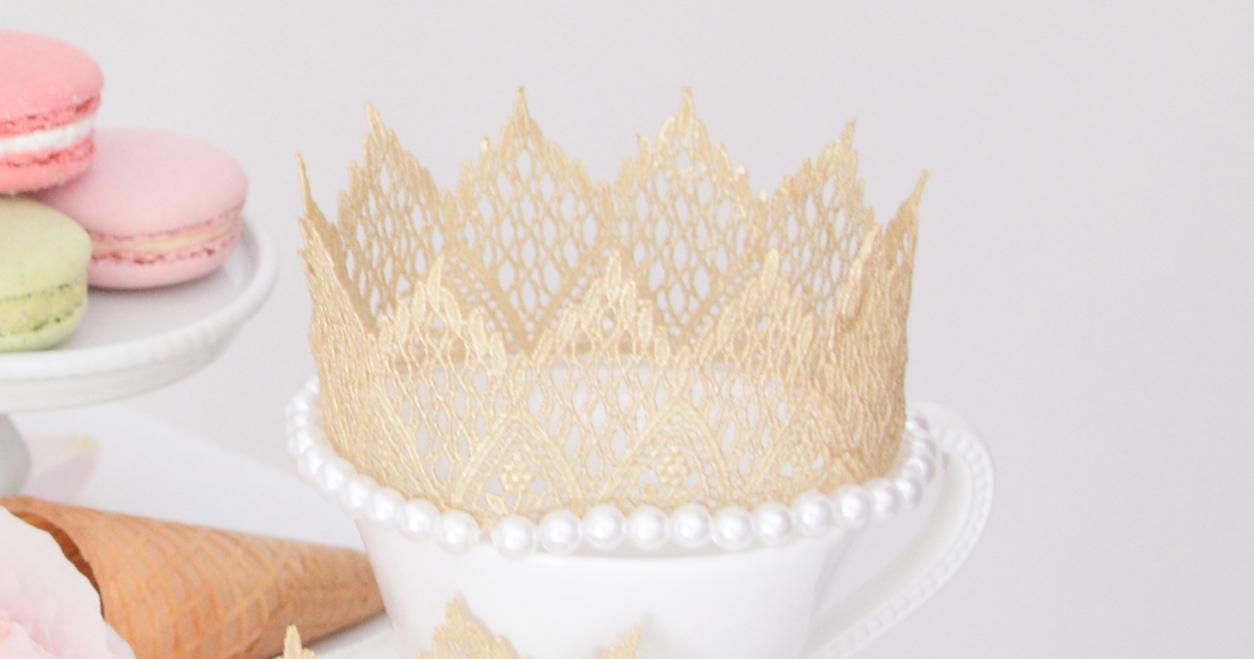 ハーフバースデーは王冠をかぶせて。動画で簡単!ベビークラウンの作り方