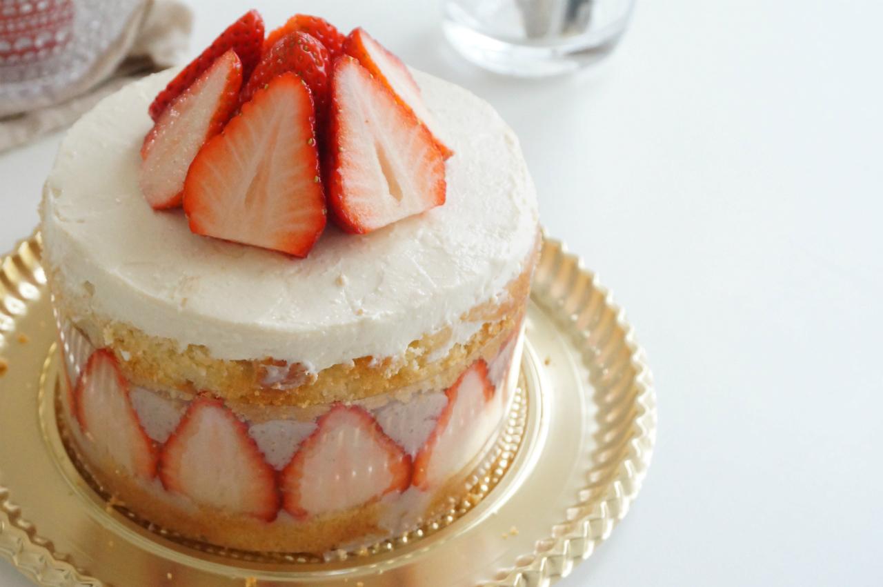 一歳のお誕生日ケーキ