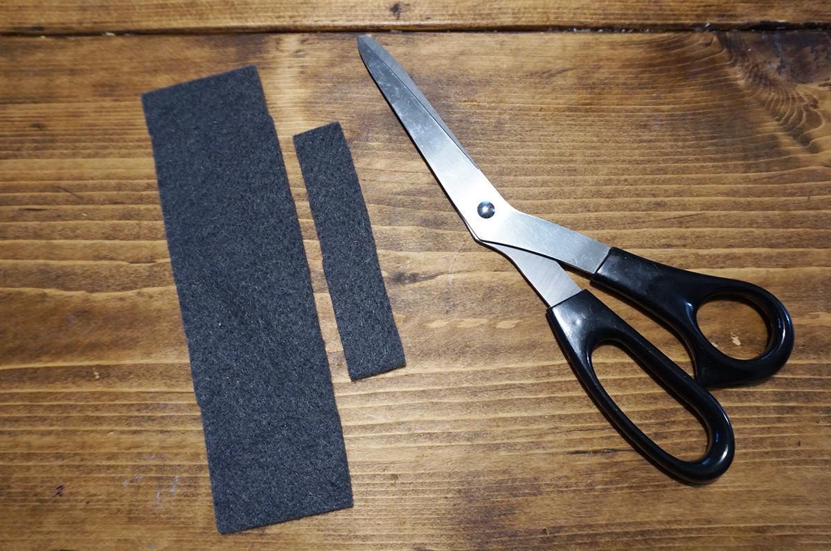 蝶ネクタイの作り方