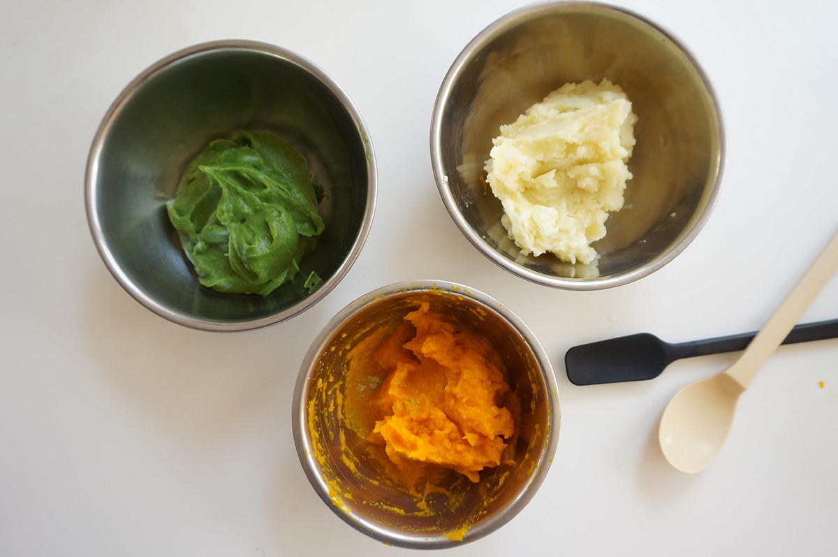 野菜のハーフバースデーケーキ作り方