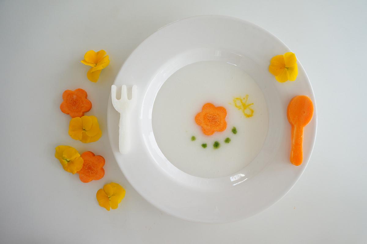 蒸し野菜のおかゆ