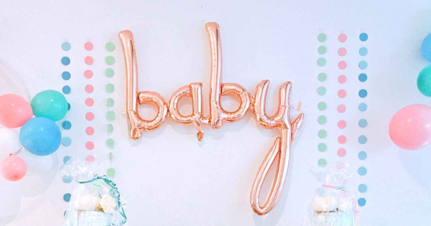 BUBBLEGUM BABY SHOWER