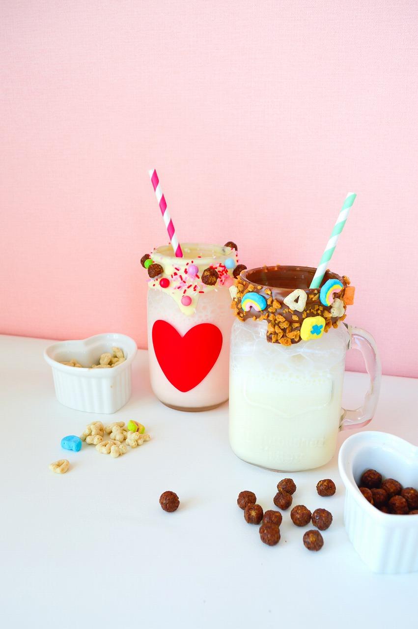 ミルクシェイクの作り方