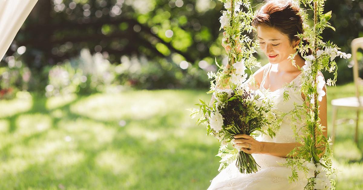 ガーデンウェディング検討中の花嫁さん必見!ガーデンのある結婚式場と演出をご紹介