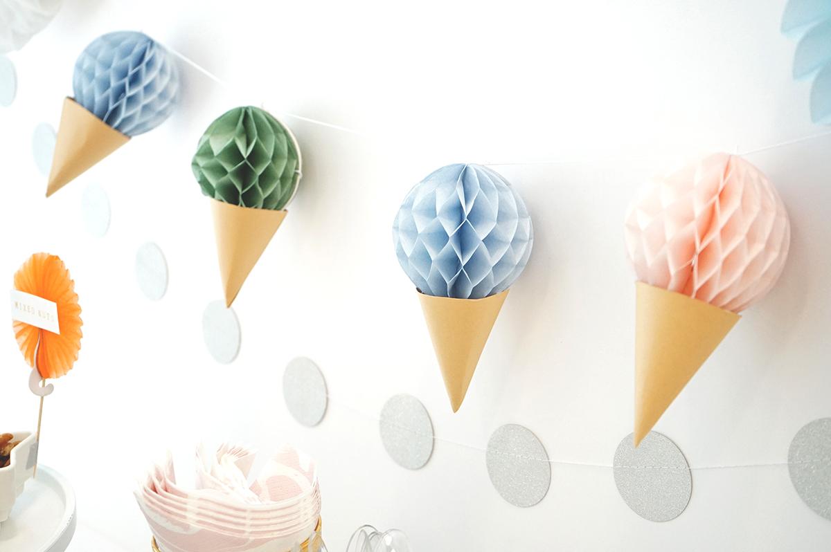 アイスクリームガーランド
