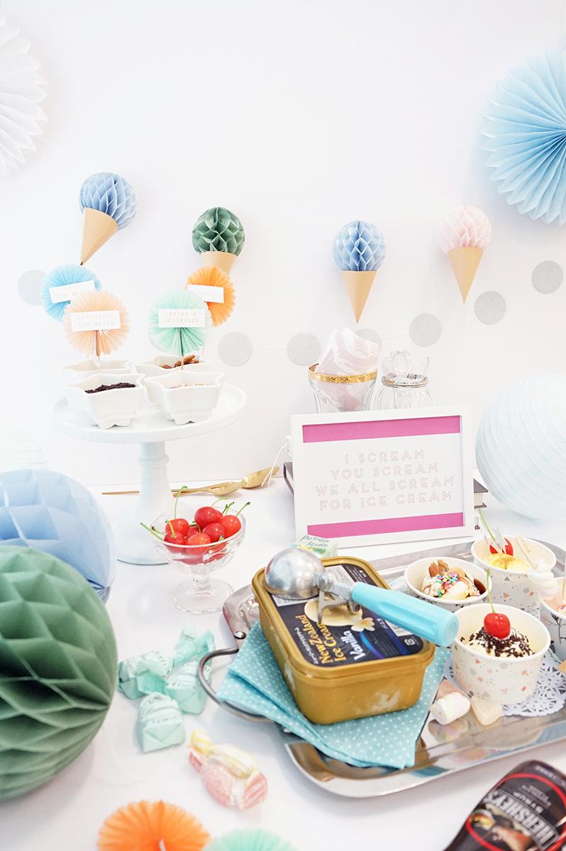 アイスクリームパーティーのすすめ