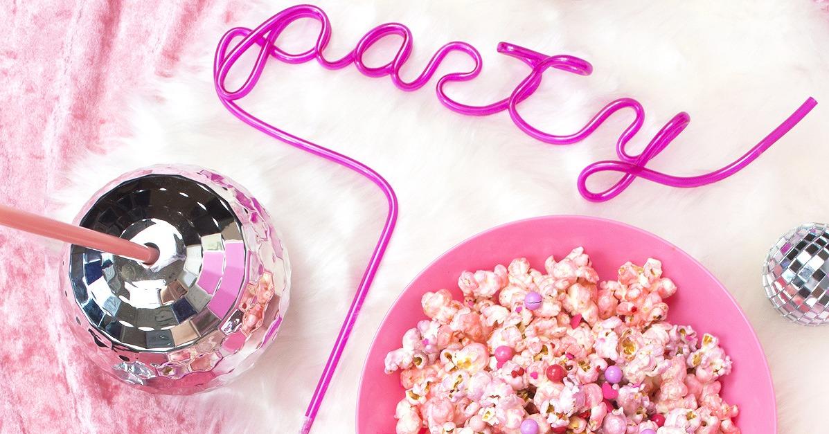 ホームパーティーや映画ナイトのお供に♪ゆめかわシュガーポップコーンの作り方
