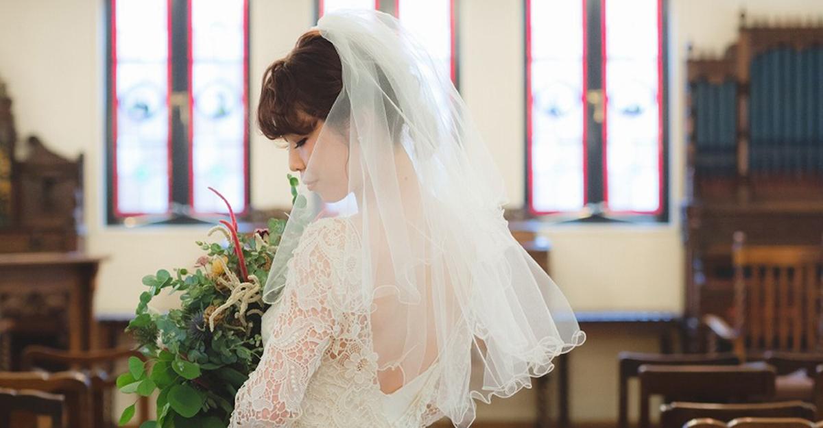ドレスの印象がガラリと変わる。実は奥深いウェディングベールの選び方