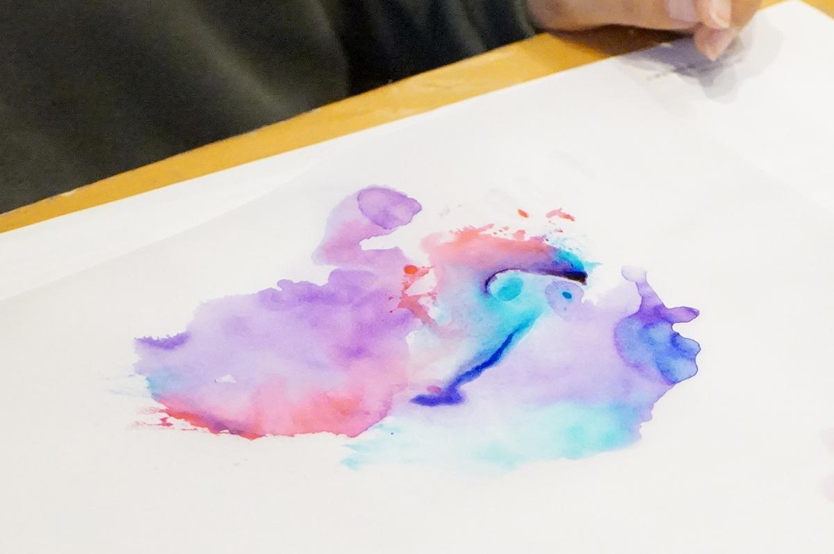 ABTで作る水彩デザイン