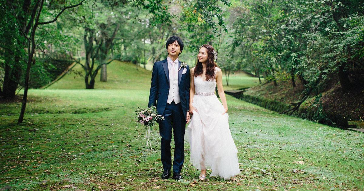 海外のようなガーデンウェディング!軽井沢の結婚式がおしゃれ