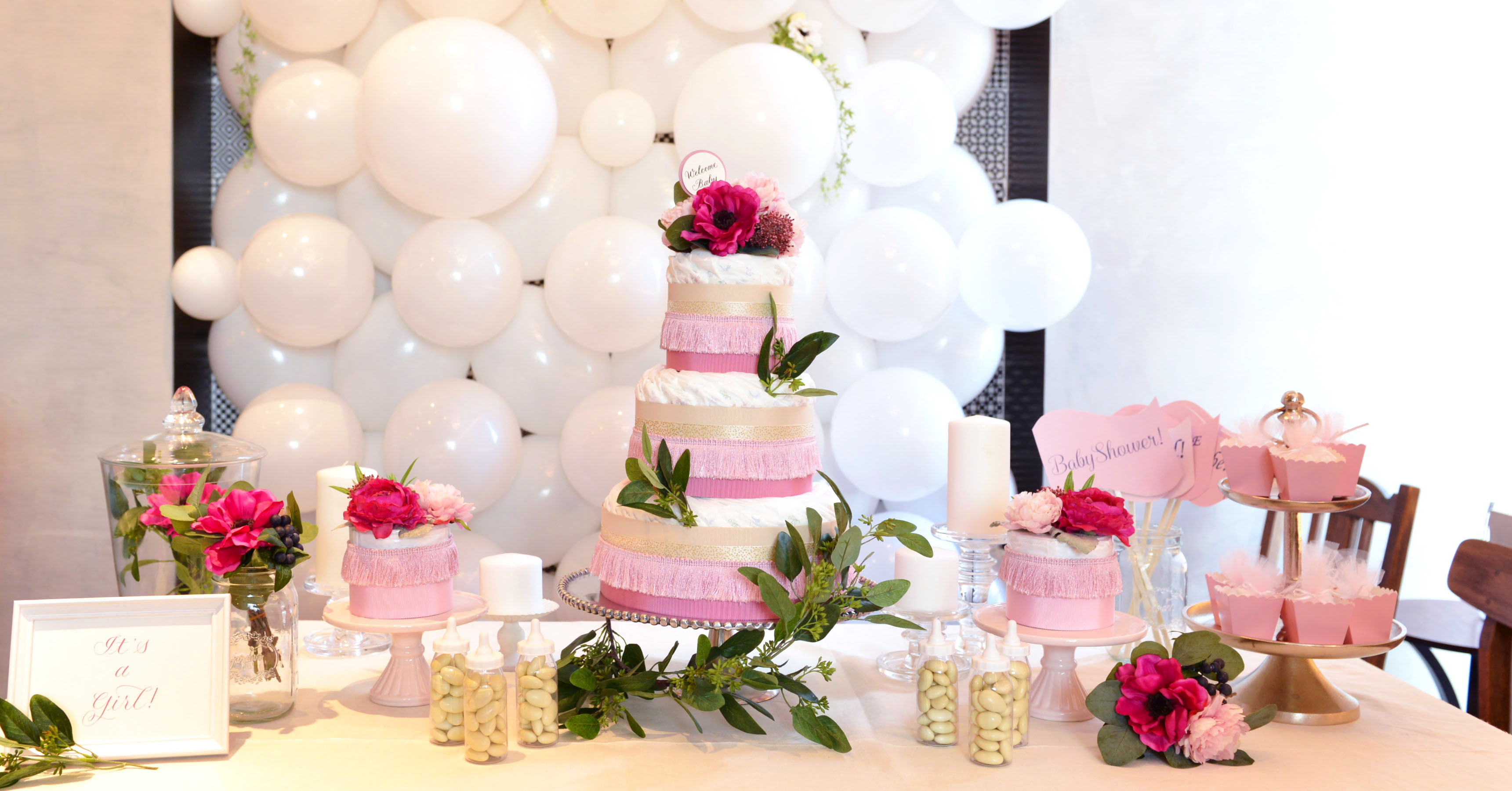 SWEET PINK BABY SHOWER