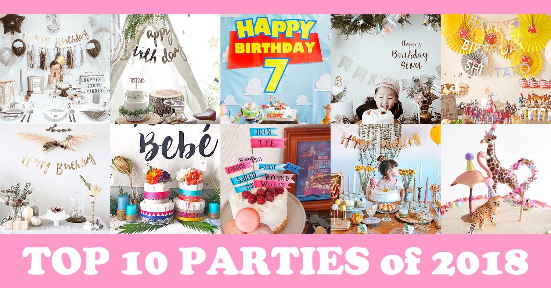 2018年のTOP10パーティーアルバムをお届け!キッズパーティーの「いま」はこれ