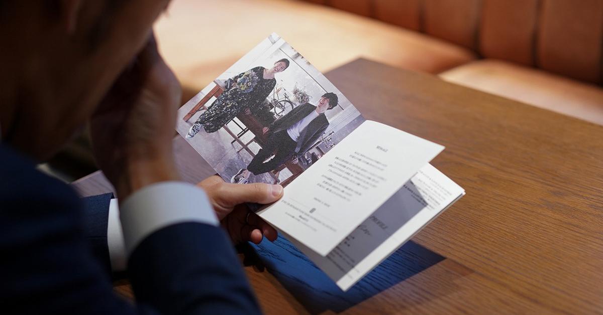 ムービーやブック以外にも。「新郎新婦プロフィール」のおしゃれアイディア13選