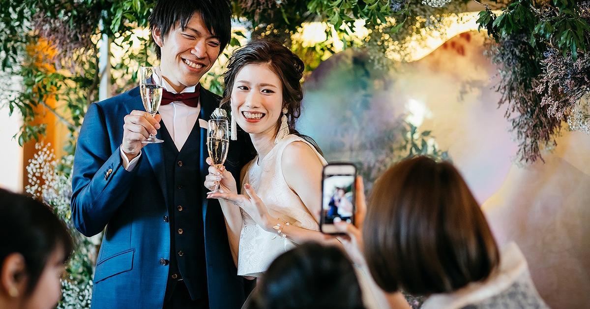 結婚式中も楽しみながら、ゲストも喜ぶ「フォト」アイディア12選