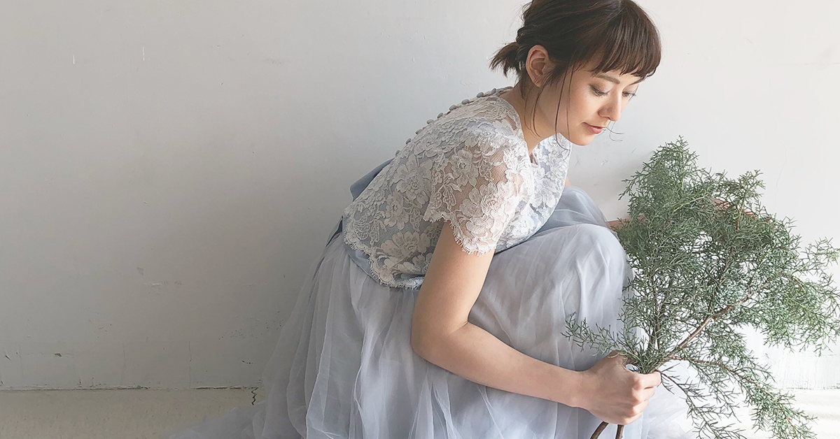東海花嫁さん必見!岐阜「アトリエ花みち」のドレスがとびきり可愛いって噂