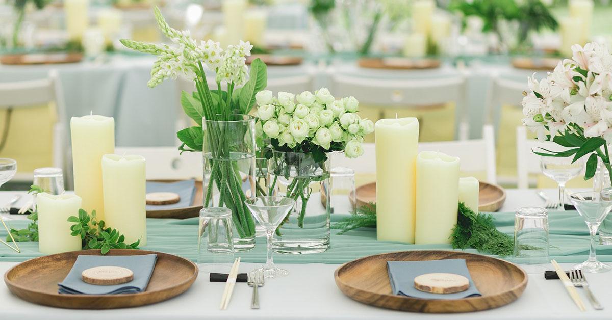 お花屋さんみたい!結婚式のテーブル装花は「グルーピング」がおしゃれ