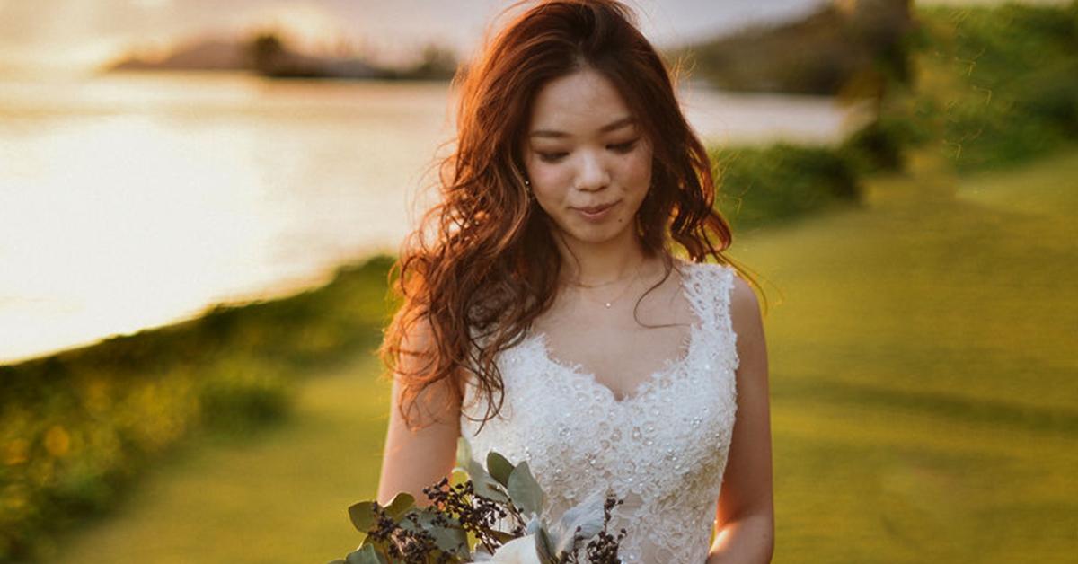 いつもな感じが正解◎ラフなヘアスタイルがイマドキ花嫁にヒット中!