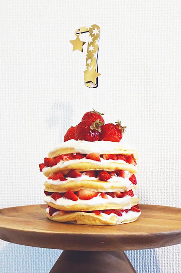 赤ちゃんも食べれるケーキ