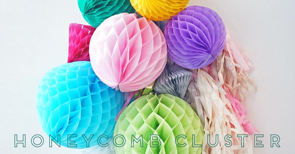 【作り方解説付き】ハニカムボールの飾り付けはボリュームを出すのが今年流!