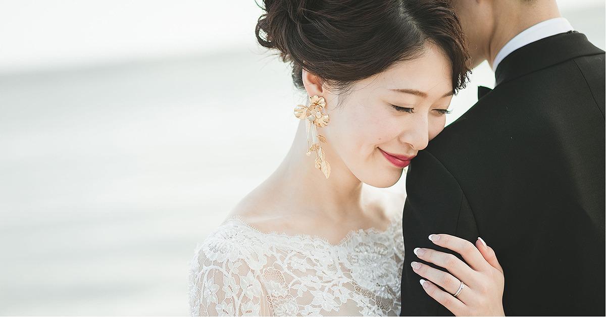 結婚式のイヤリング選び。花嫁アクセサリーは大ぶりイヤリングがおしゃれ