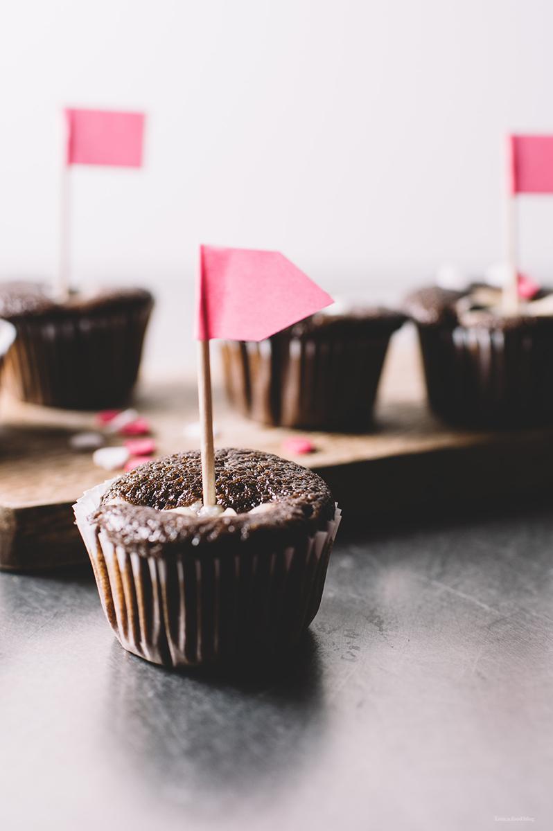 ブラックボトム・カップケーキ