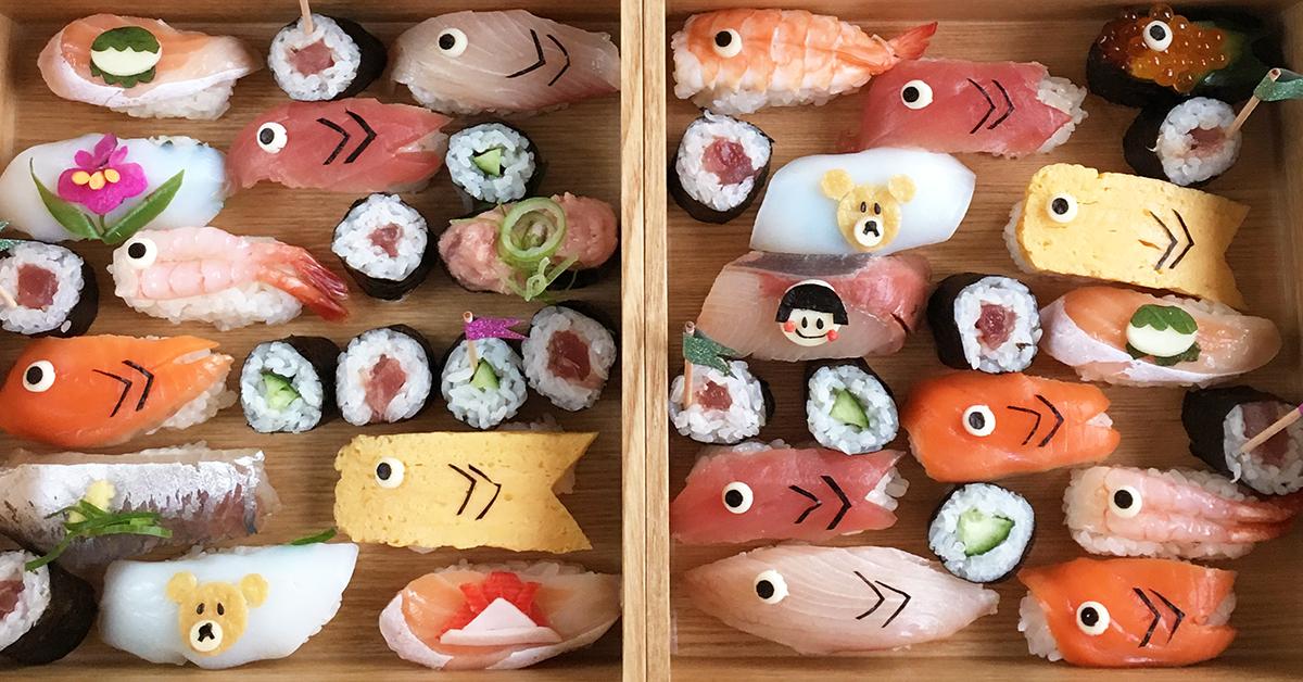 忙しいママの味方!こどもの日の簡単レシピ「こいのぼりデコ寿司」