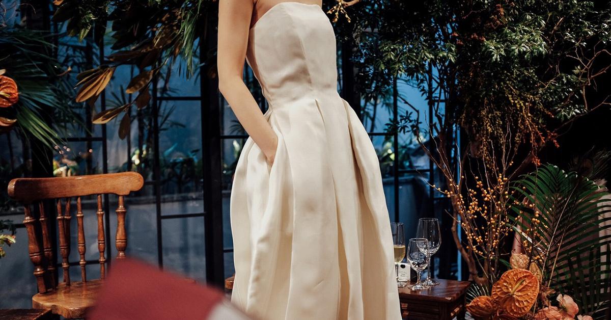 モダンでおしゃれな花嫁さんに!HOUGHTON BRIDEのドレス8選
