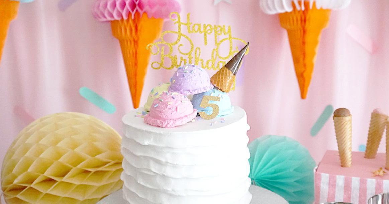 BIRTHDAY ICE CREAM STORE