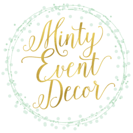 Minty Event Decor