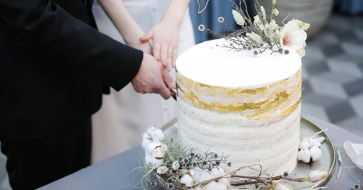 写真映えするアートなウェディングケーキのアイディア特集