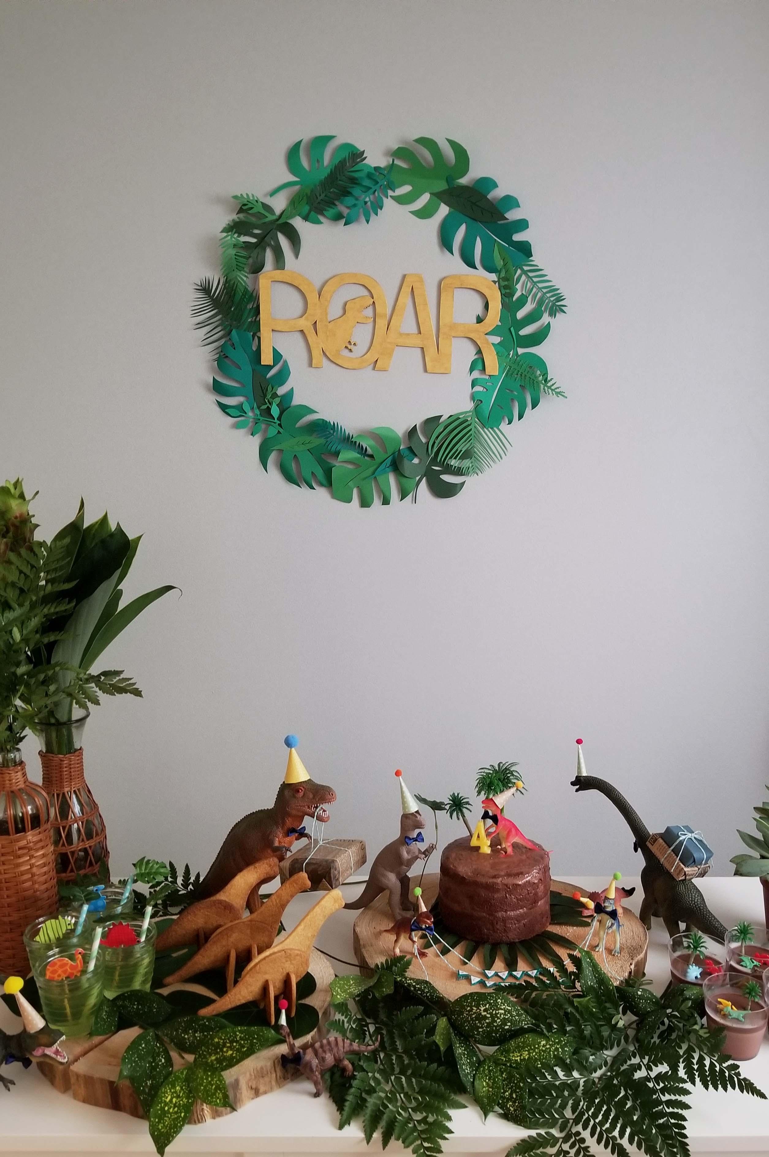 恐竜パーティー
