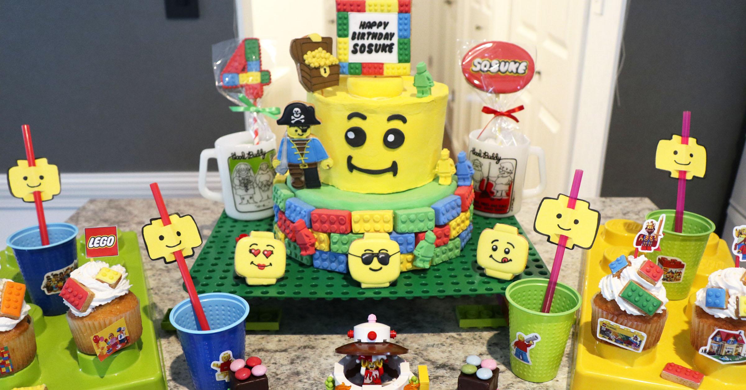 HAPPY BIRTHDAY CAPTAIN LEGO