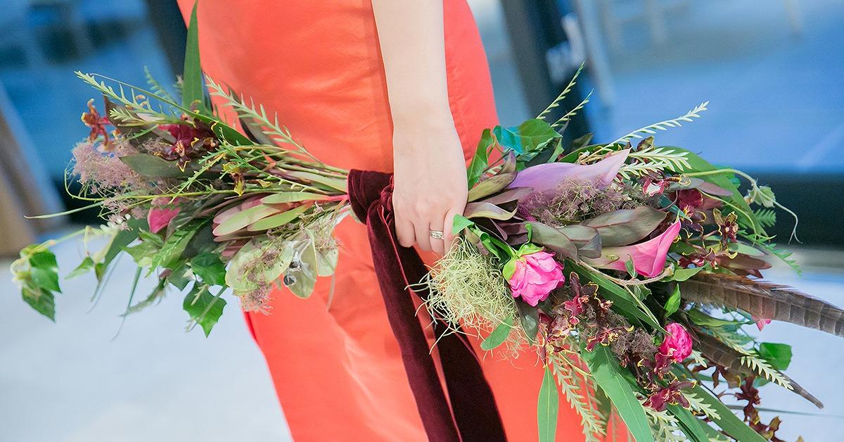 今後おしゃれ花嫁に流行の予感。「バレリーナブーケ」って知ってる?